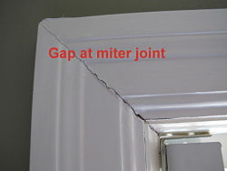 Painting Interior Trim – Joint Gaps