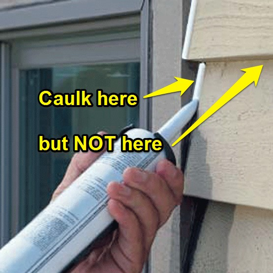 What Not To Caulk Exterior Painting Crestwood Painting