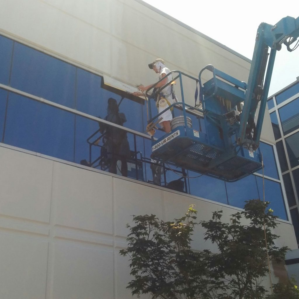 Commercial Exterior Painting In Kansas City Crestwood Painting