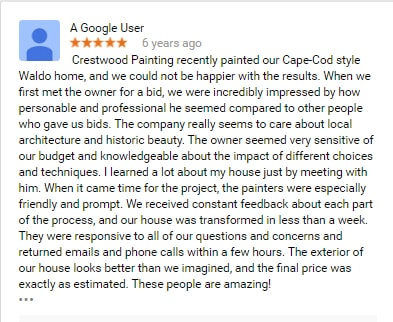 online painting review crestwood painting