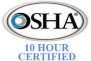 crestwood painting safety certification osha 10 hour
