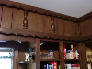 painting kitchen cabinets before