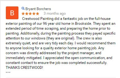 painter review crestwood painting kansas city